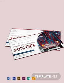 Free Car Wash Discount Voucher Template