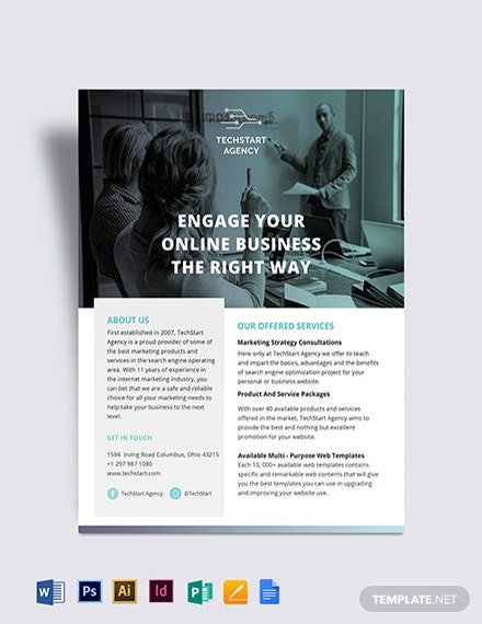 Company Flyer Template