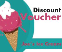 Free Ice Cream Shop Discount Voucher Template