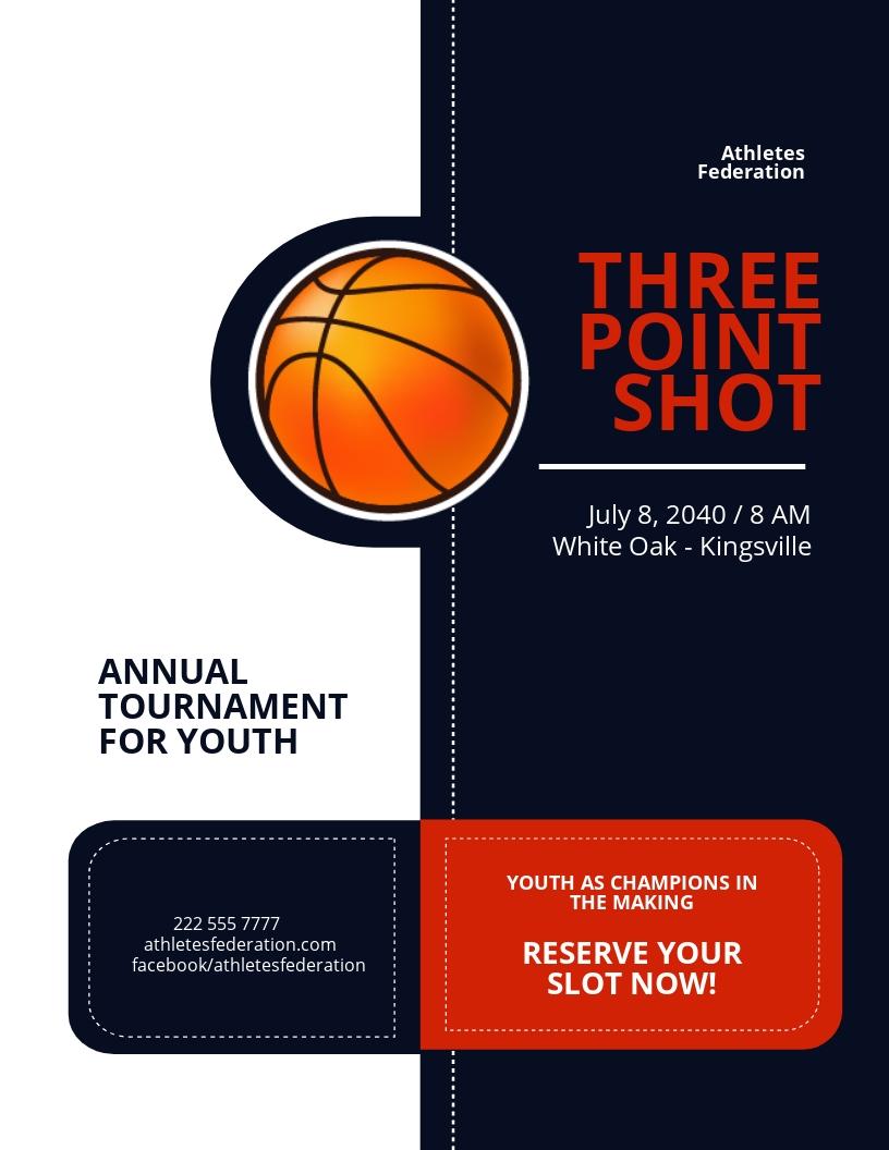 Tournament Flyer Template