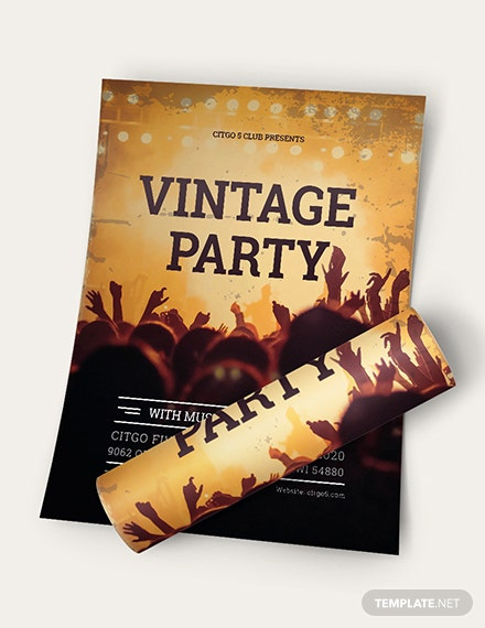Vintage Flyer Download