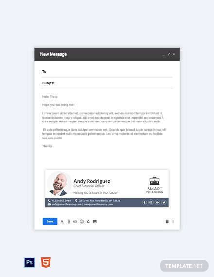 Clean Email Signature Template