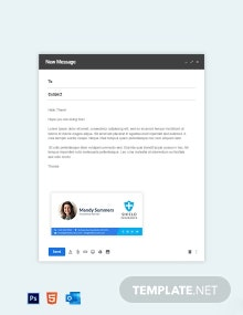 Insurance Agent Email Signature Template