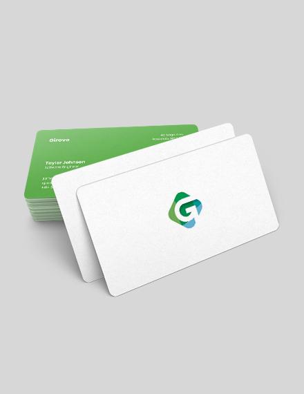 Sample Software Engineer Business Card