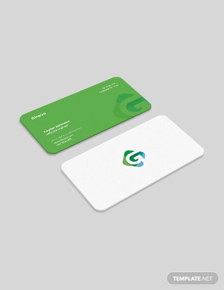 Software Engineer Business Card Download