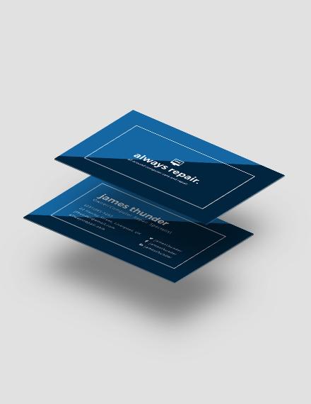 Creative Computer Repair Business Card Download