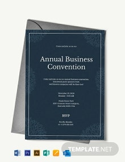 Business Event Invitation Template