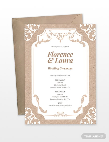Country Wedding Invitation Download