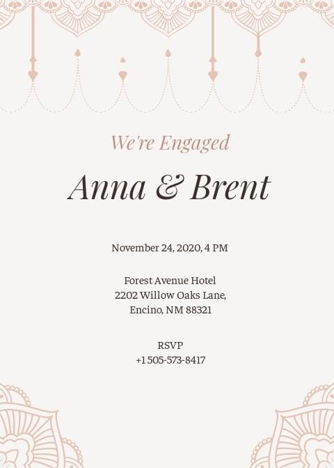 Elegant Invitation Template