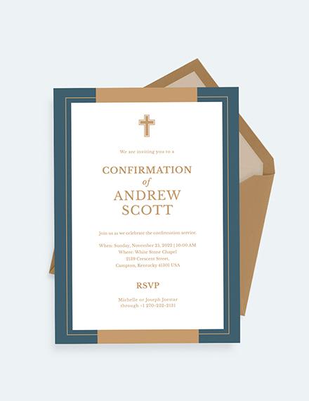Confirmation Invitation Download