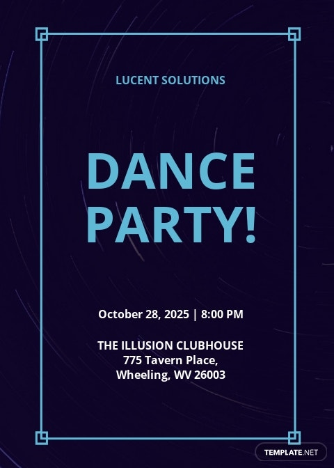 Dance Party Invitation Template.jpe
