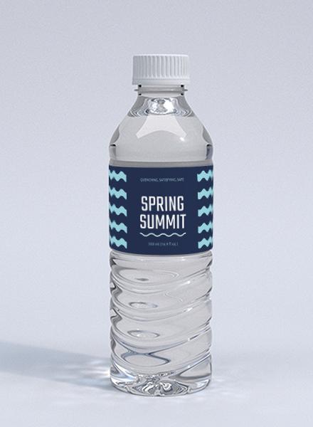 Free Bottle Label Template