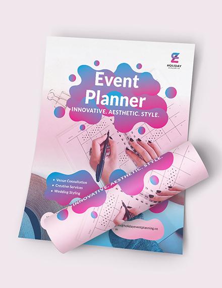 Event Planner Flyer Download