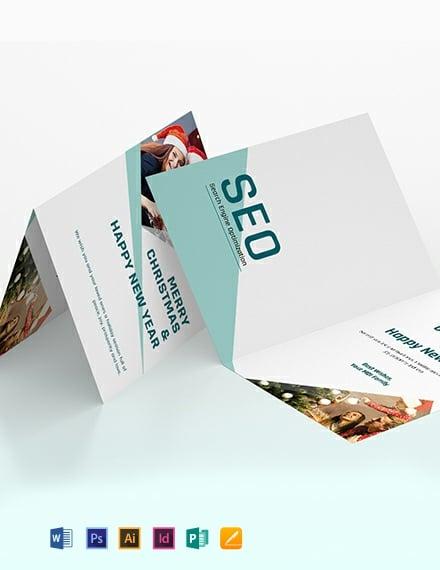 SEO Greeting Card Template