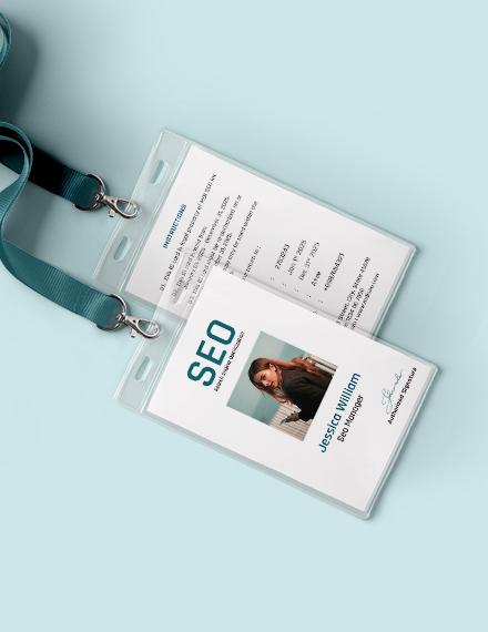 SEO Identity Card Download