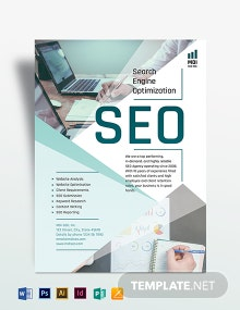SEO Flyer Template