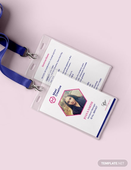 Creative Agency ID Card Download