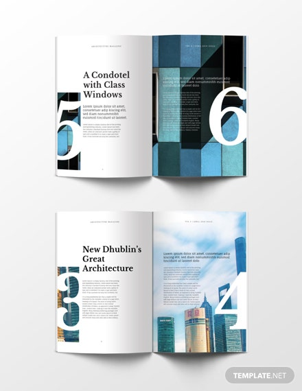 Free Architecture Magazine Template: Download 36+ Magazines In PSD,  Illustrator, InDesign | Template.net