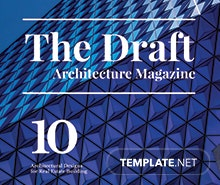 Free Architecture Magazine Template In Adobe Photoshop, Adobe Illustrator,  Adobe InDesign | Template.net
