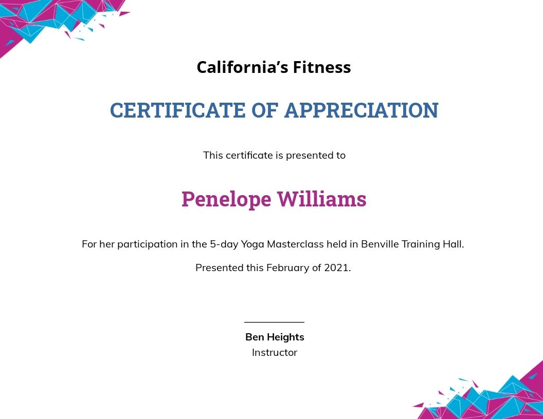 Modern Yoga Certificate Template.jpe