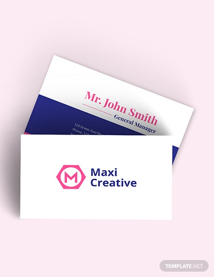 Creative Agency Business Card Download
