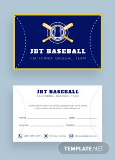 free baseball trading card template in adobe photoshop illustrator