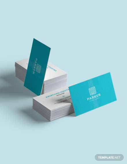 Sample Travel Agency Business Card
