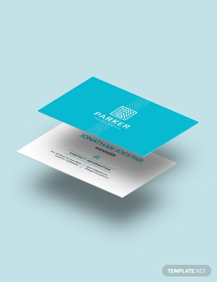 Travel Agency Business Card Download