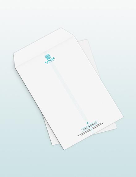Sample Travel Agency Envelope