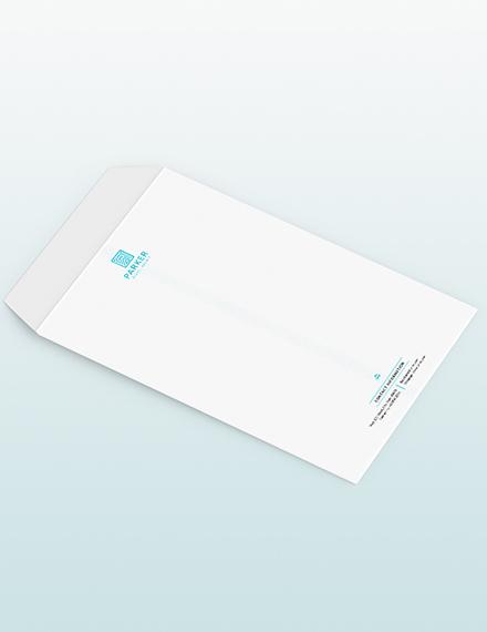 Travel Agency Envelop Download