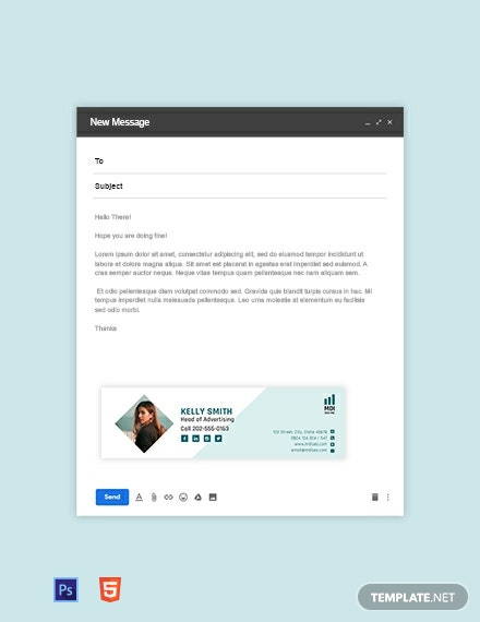 SEO Email Signature Template