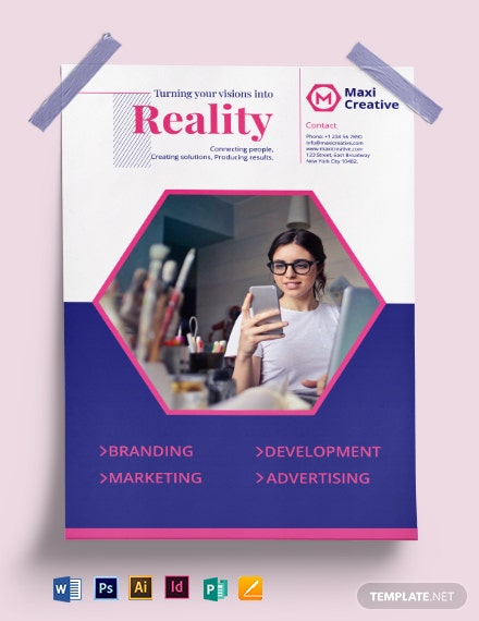 Creative Agency Poster Template