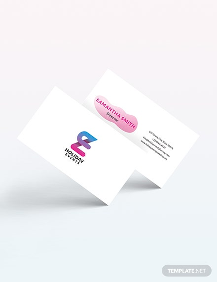 Event Planner Business Card Download
