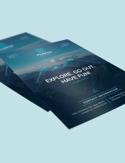 Sample Travel Agency Flyer