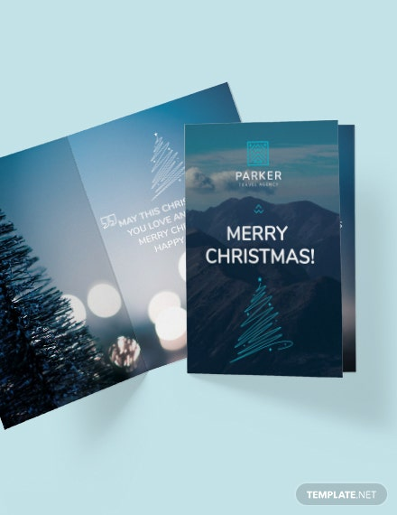 Travel Agency Greeting Card Download