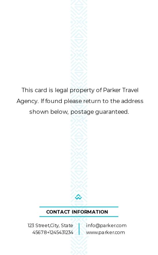 Travel Agency ID Card Template 1.jpe