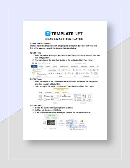 Travel Agency Invoice Instructions