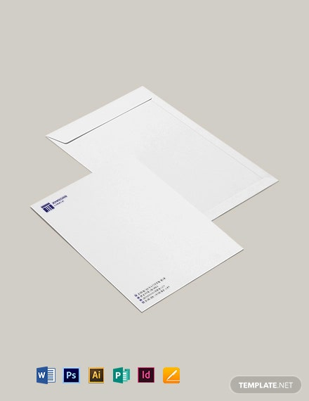 Law Firm Envelope Template