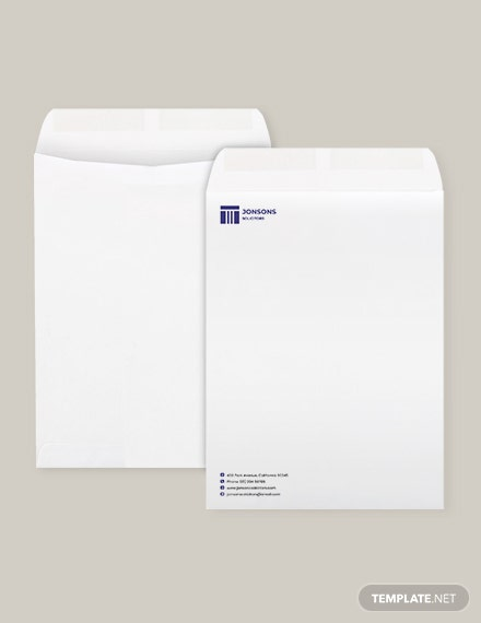 Sample Law Firm Envelope