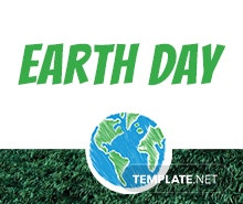 Free Earth Day Email Newsletter Template