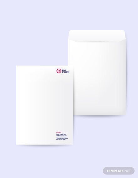 Sample Creative Agency Envelope