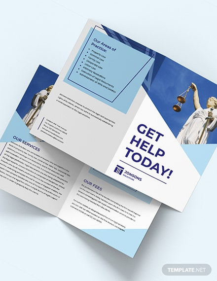 Law Firm BiFold Brochure Download