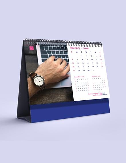 Creative Agency Desk Calendar Download