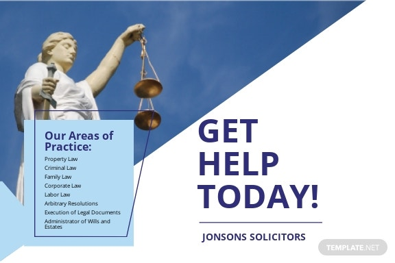 law Firm Post Card Template.jpe