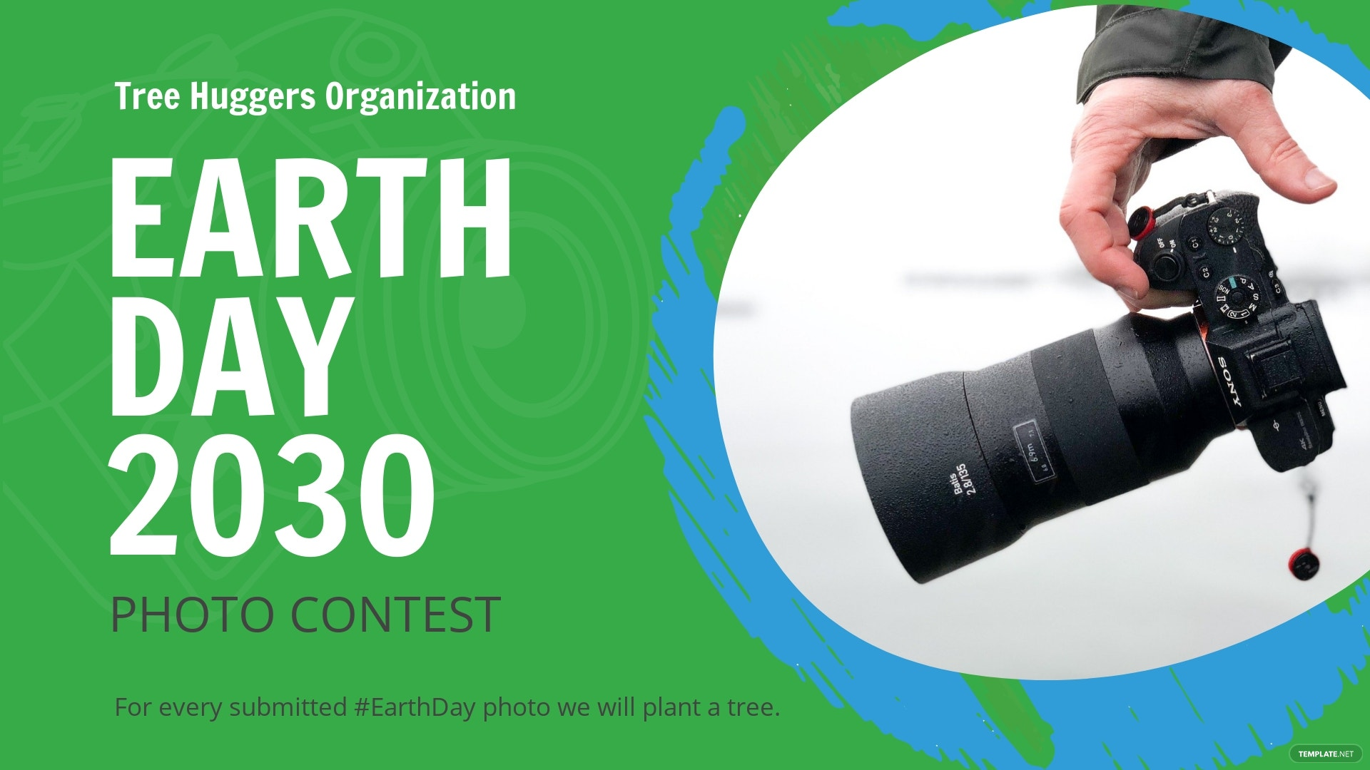 Earth Day Facebook Event Cover Template