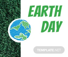 Free Earth Day Facebook Event Cover Template