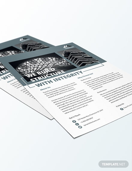 Architectural Firm Flyer Download