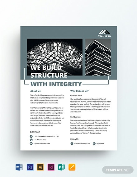 Architectural Firm Flyer Template