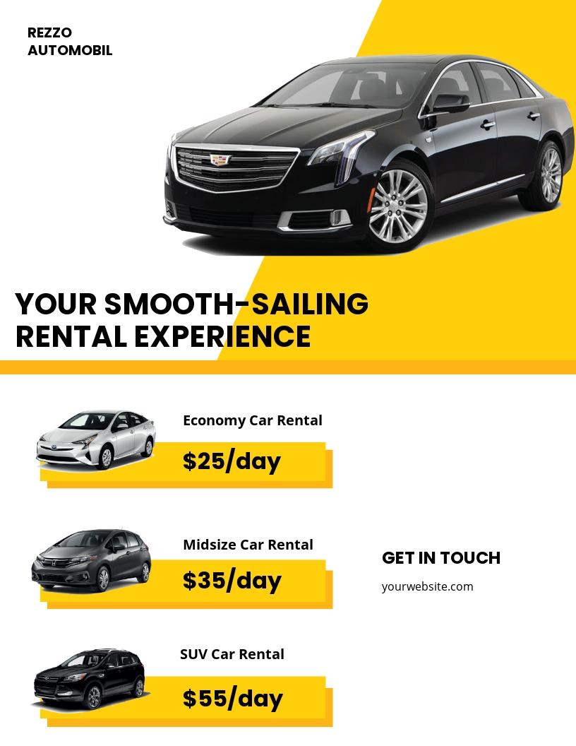 Car Rental Flyer Template.jpe