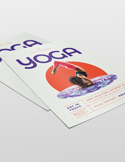 Sample Yoga Flyer